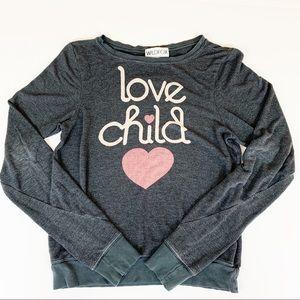 Wildfox Love Child baggy beach Jumper Size XS